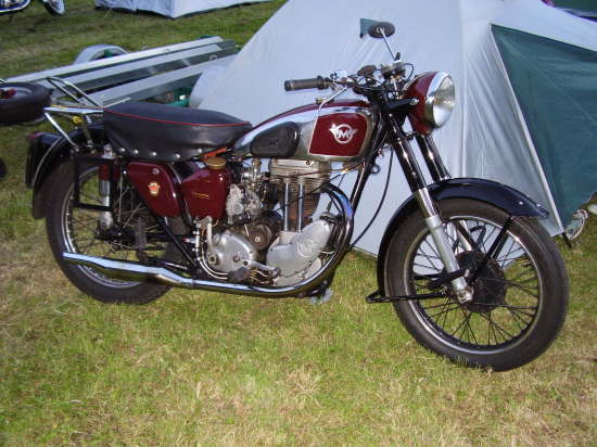 Matchless HW Single, between 1952 and 1954